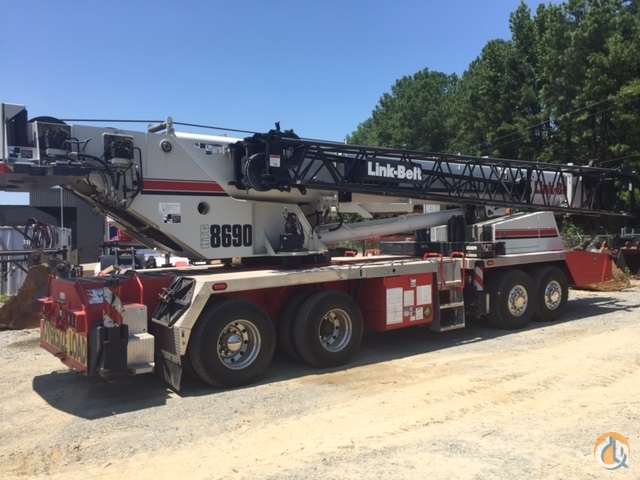 2011 Link-Belt HTC-8690 Crane for Sale on CraneNetwork.com