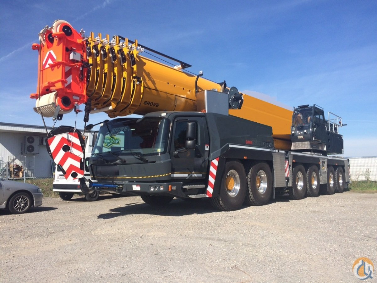 2015 GROVE GMK6300L Crane for Sale in Ayr Ontario on CraneNetwork.com