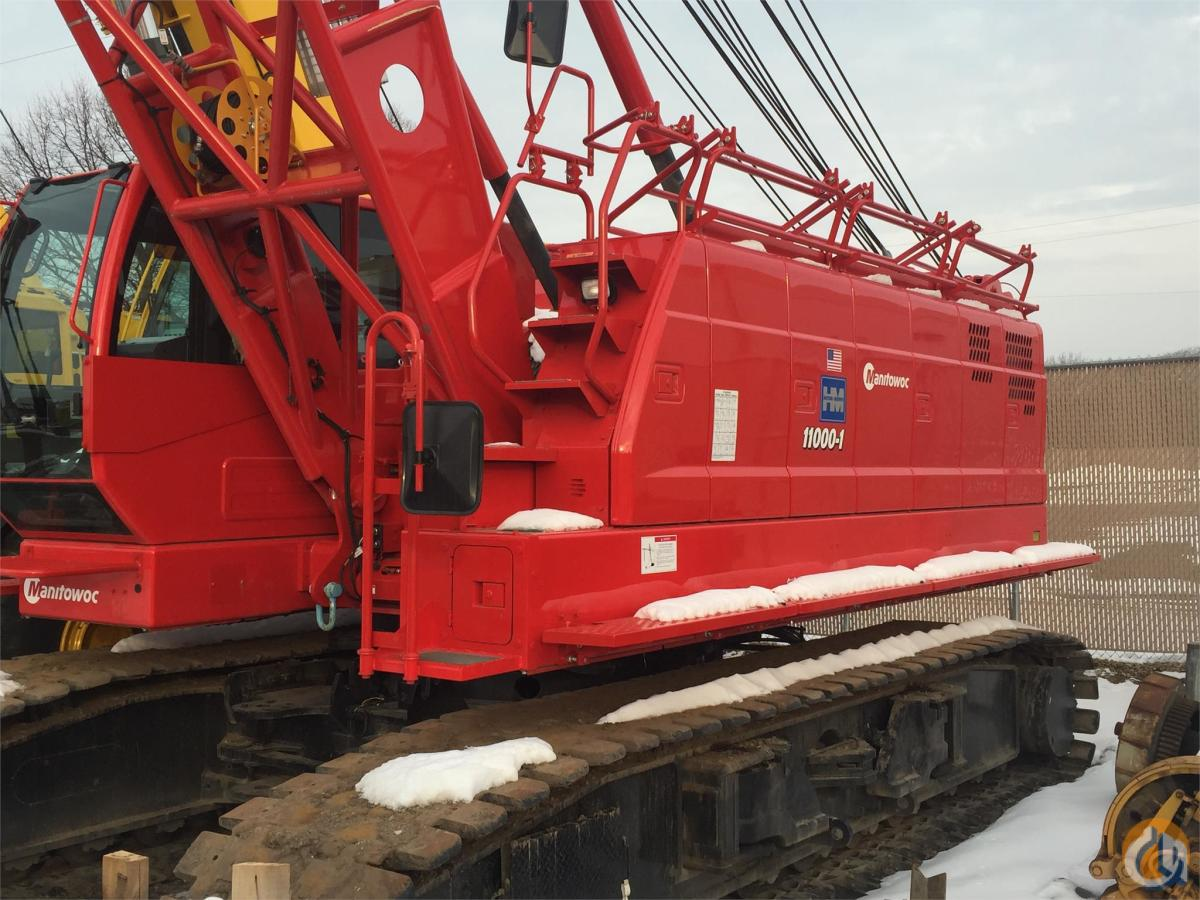 2015 MANITOWOC 11000-1 Crane for Sale in Bloomington Minnesota on CraneNetworkcom