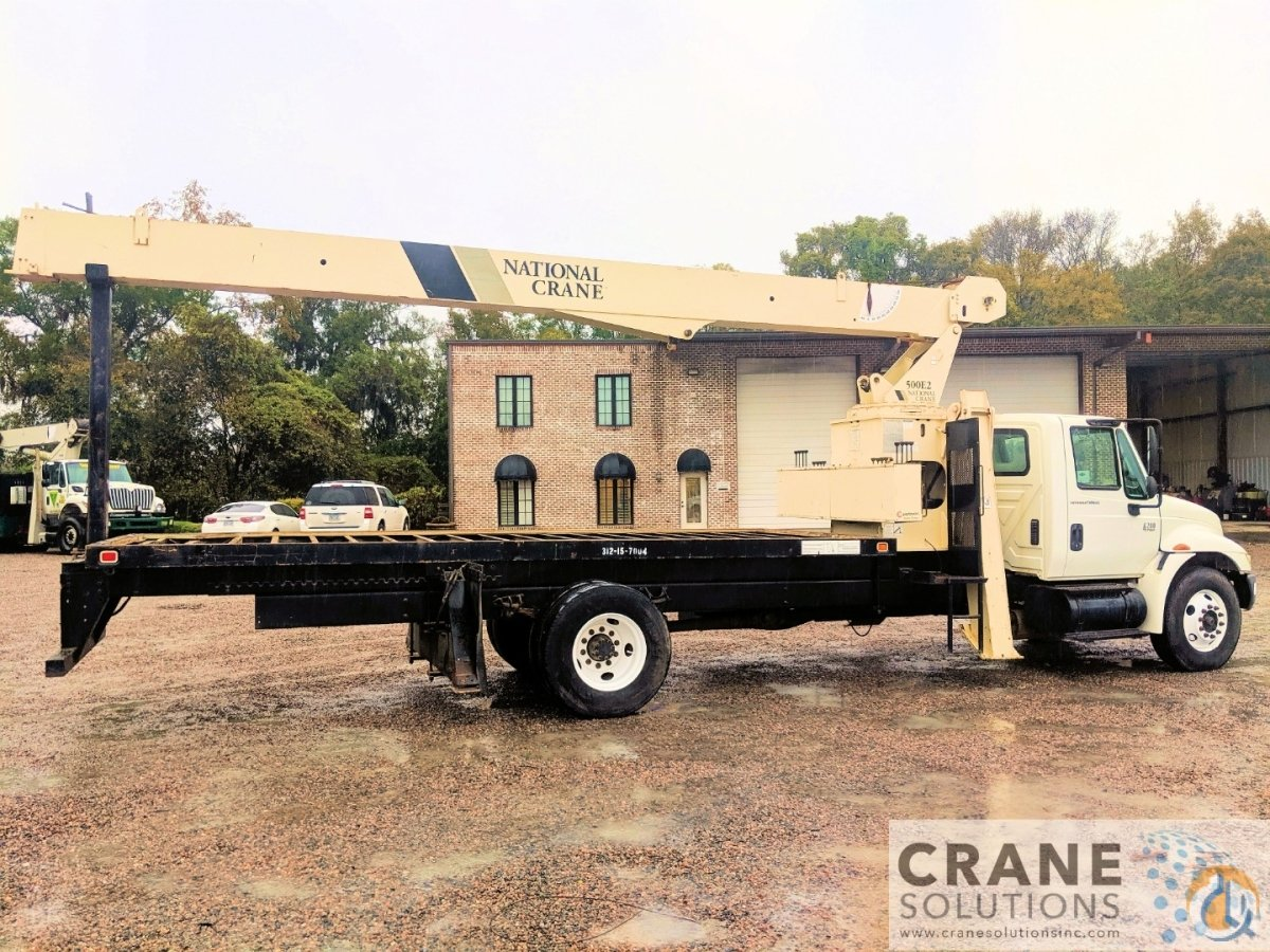 2008 National 500E2571E2 Crane for Sale or Rent in Savannah Georgia on CraneNetwork.com