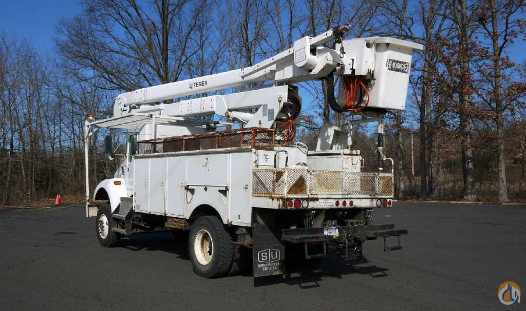 TEREX 5TC- 55 HIRANGER BUCKET TRUCK Crane for Sale in Hatfield Pennsylvania on CraneNetwork.com