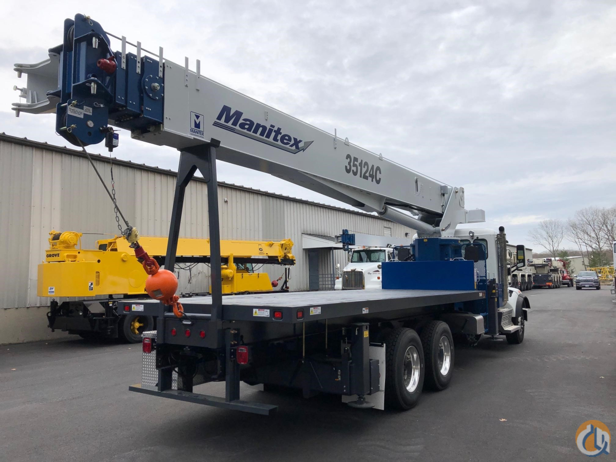 2020 MANITEX 35124C Crane for Sale in Holbrook Massachusetts on CraneNetwork.com