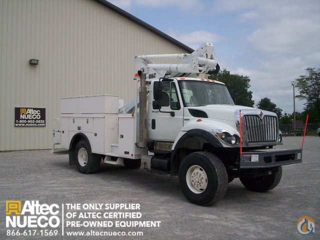2009 ALTEC TA40 Crane for Sale in Fort Wayne Indiana on CraneNetworkcom
