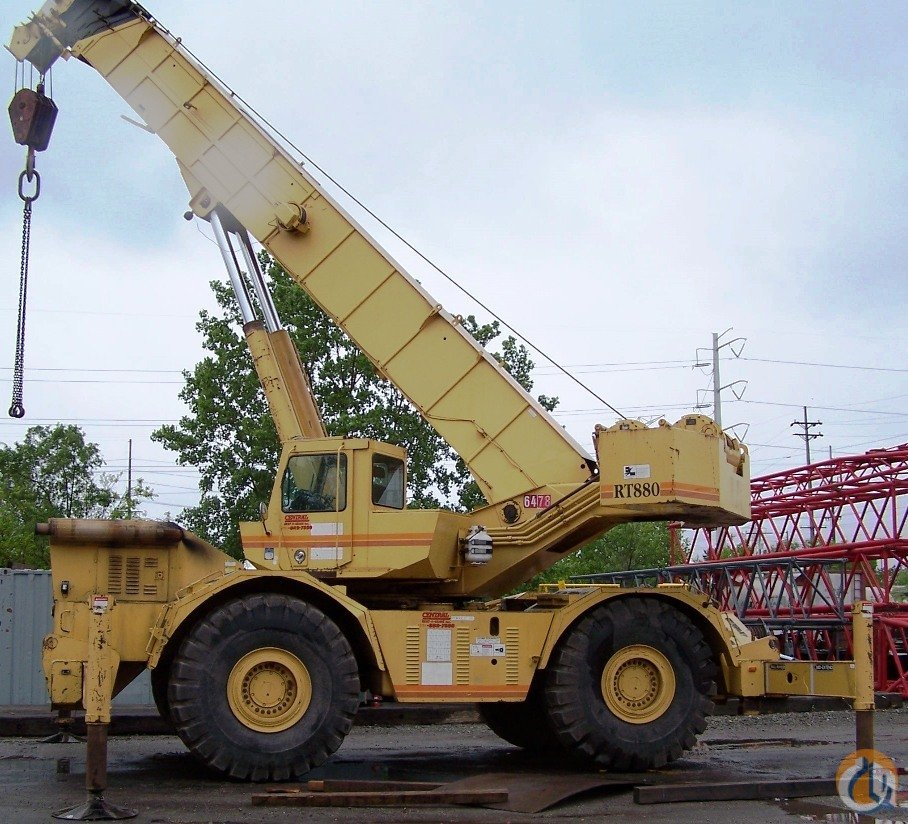Grove RT880 For Sale Crane for Sale in Hammond Indiana on CraneNetwork.com