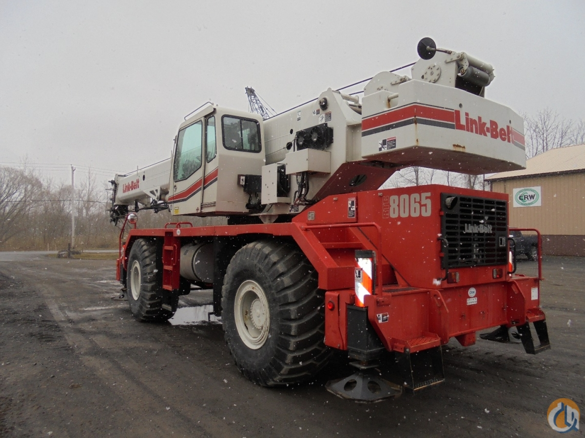 2012 Link-Belt RTC-8065 SII Crane for Sale in Central Square New York on CraneNetwork.com