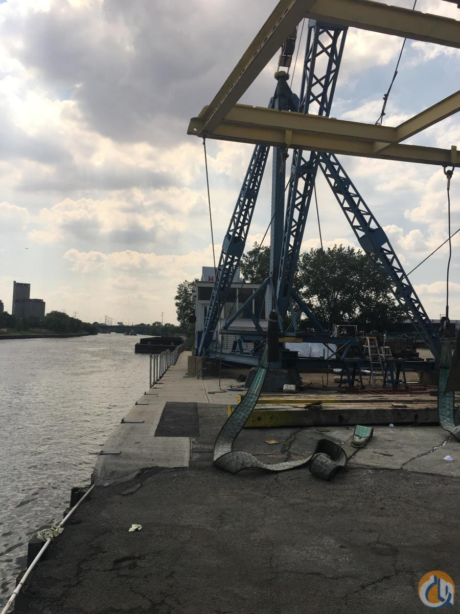 American Derrick marine crane Crane for Sale in Chicago Illinois on CraneNetwork.com