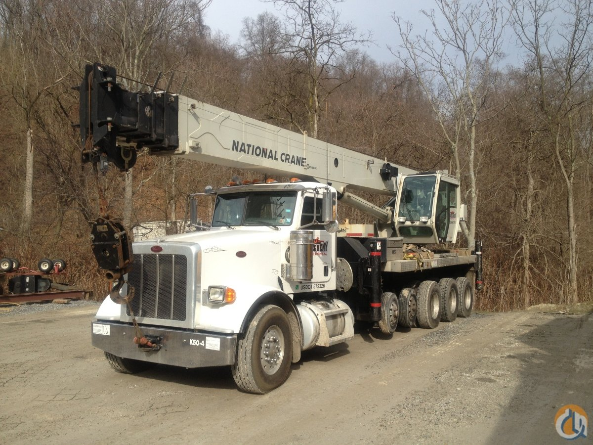 2012 National NBT50 Crane for Sale or Rent in Pittsburgh Pennsylvania on CraneNetworkcom