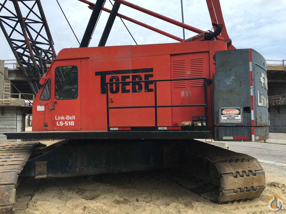 1979 LINK-BELT LS-518 Crane for Sale in Wixom Michigan on CraneNetwork.com