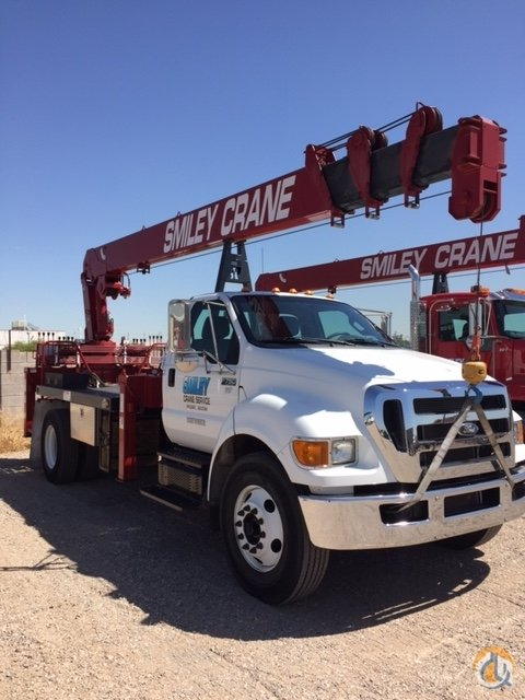 REVOLUTION 84RM crane with a reach of 84 -rear mounted. No CDL Required Crane for Sale or Rent in Phoenix Arizona on CraneNetwork.com