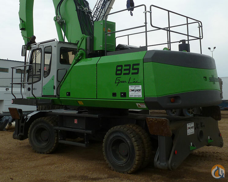 New Sennebogen Material Handler Crane for Sale in Leduc Alberta on CraneNetwork.com