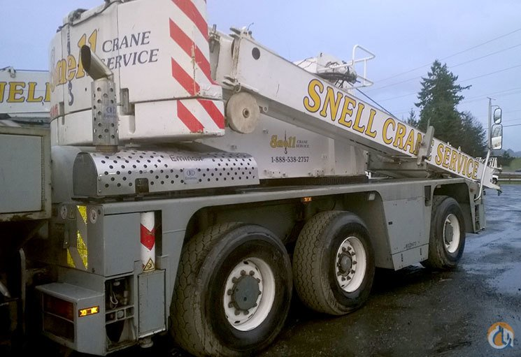 2002 DEMAG AC 40-1 CITY CRANE FOR SALE Crane for Sale in Olympia Washington on CraneNetworkcom
