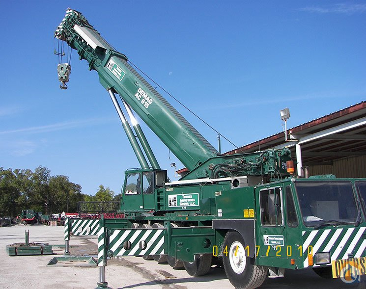 1995 Demag AC 615 Crane for Sale in Baton Rouge Louisiana on CraneNetwork.com