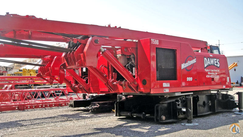 Manitowoc 999 For Sale Crane for Sale in Evansville Indiana on CraneNetworkcom