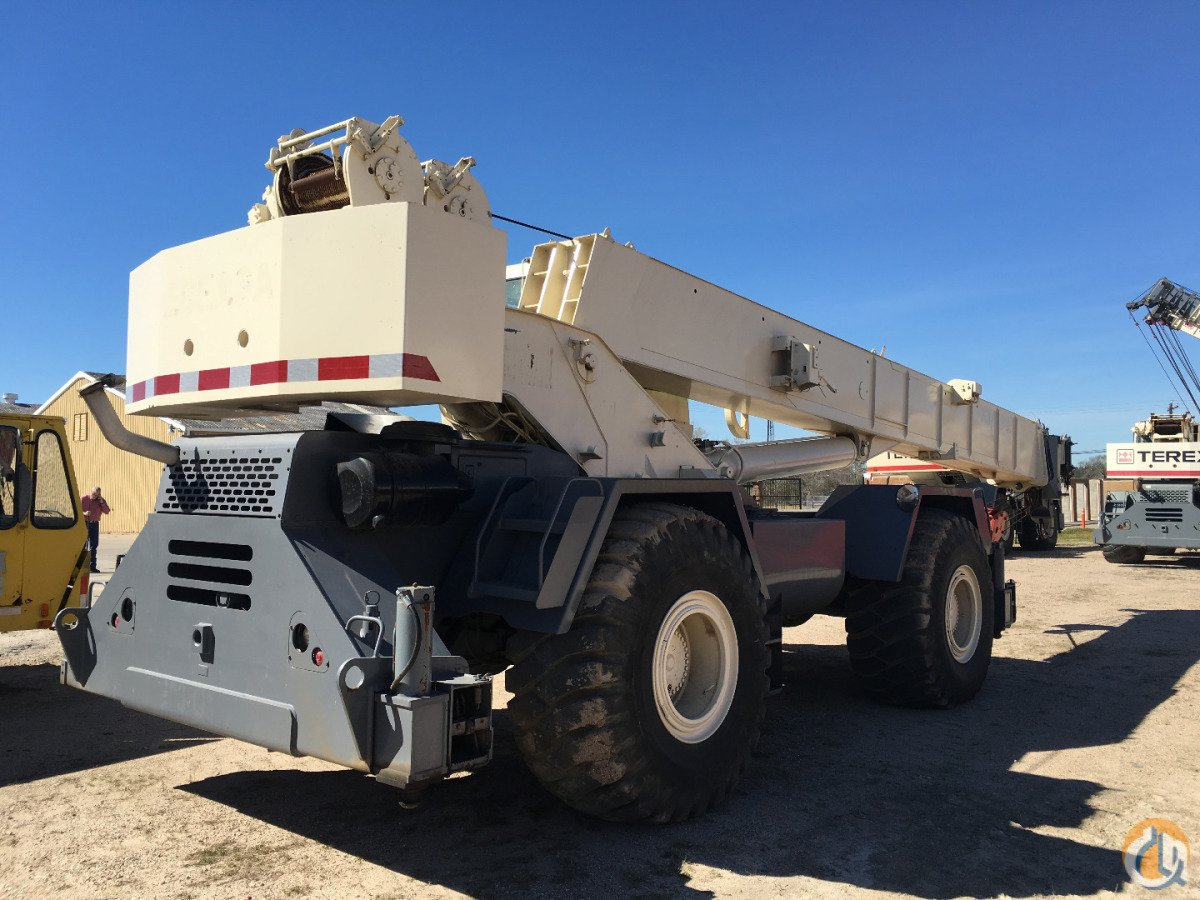 2001 TEREX RT555 Crane for Sale in Houston Texas on CraneNetwork.com