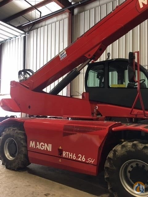 2018 MAGNI RTH6.26SH Crane for Sale in Holbrook Massachusetts on CraneNetwork.com