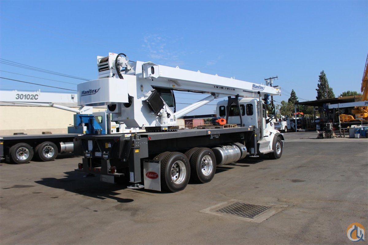 2017 MANITEX 40124SHL Crane for Sale or Rent in Santa Ana California on CraneNetworkcom