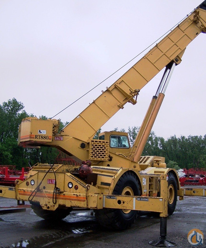 Grove Rt880 For Sale Crane For Sale In Hammond Indiana On