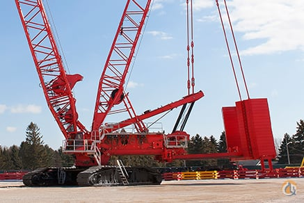 MANITOWOC MLC650 WITH VPC-MAX 2016 772 US TON CRAWLER CRANE Crane for Sale on CraneNetworkcom