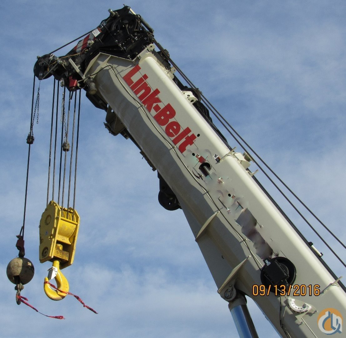 LINK BELT TCC 1100 2014    865000 Crane for Sale in Edmonton Alberta on CraneNetworkcom