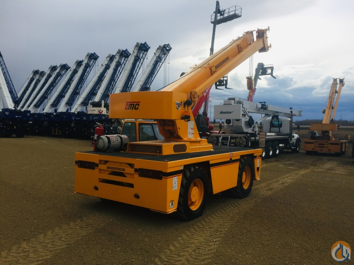 2012 BRODERSON IC-200-3G Crane for Sale or Rent in Oakville Ontario on CraneNetwork.com