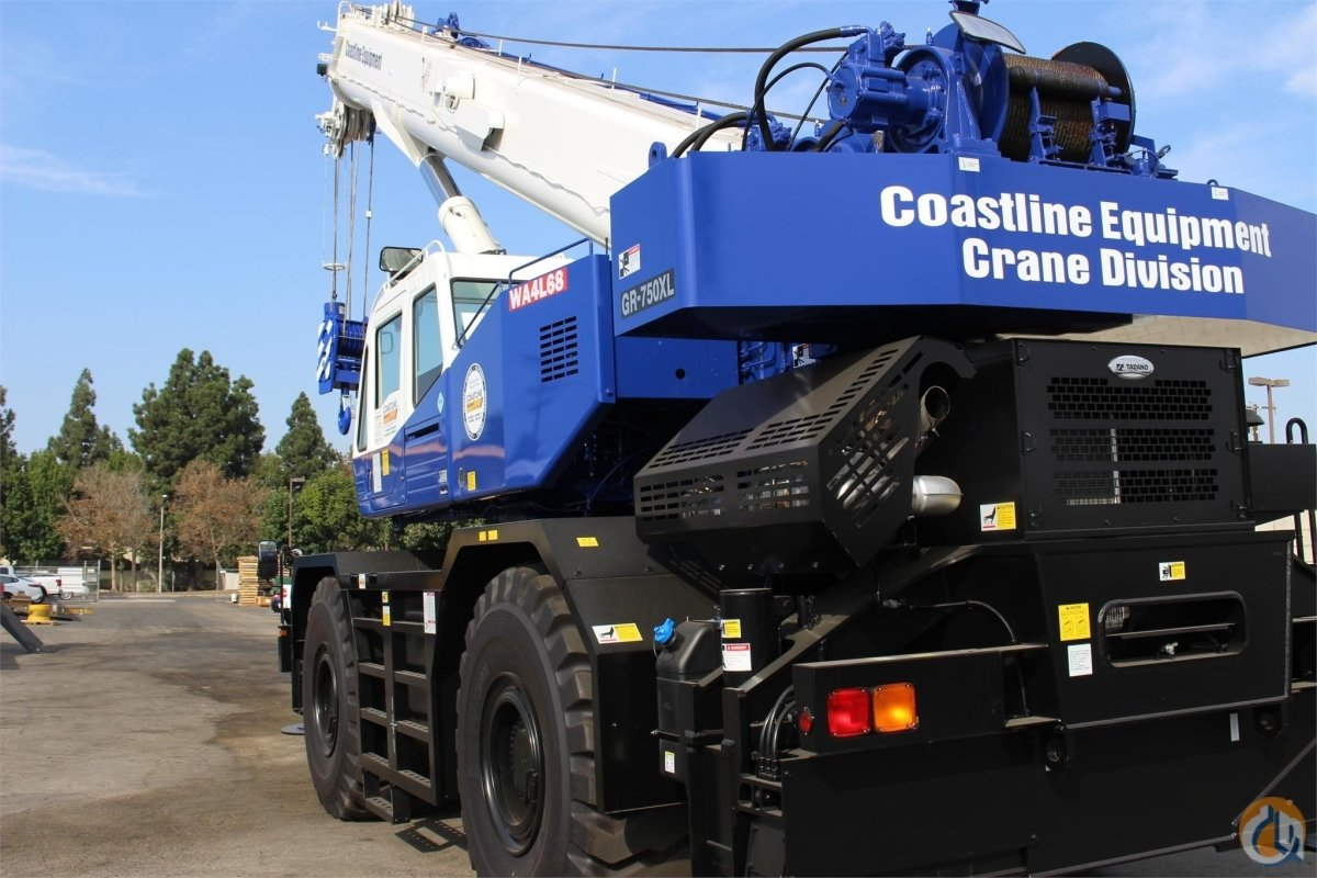 2017 TADANO GR750XL-3 Crane for Sale in Meridian Idaho on CraneNetwork.com