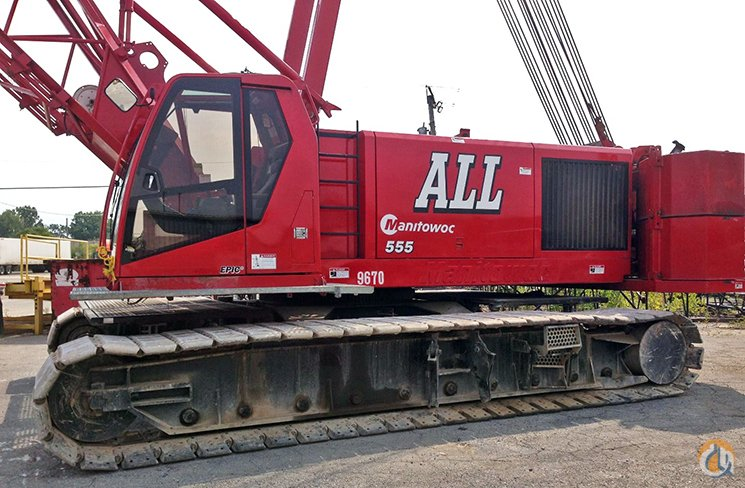 Manitowoc 555 For Sale Crane for Sale in Chicago Illinois on CraneNetwork.com