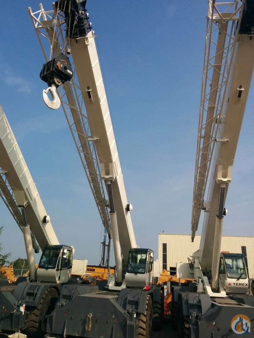 2010 TEREX RT780 Crane for Sale or Rent in Laval Quebec on CraneNetwork.com