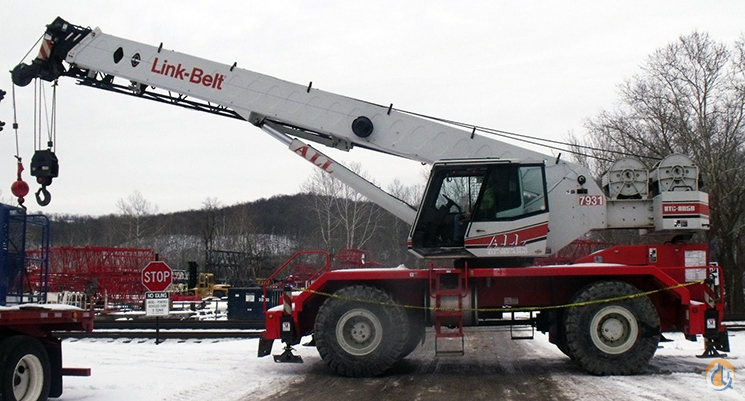 Link-Belt RTC-8050 II For Sale Crane for Sale in Pittsburgh Pennsylvania on CraneNetwork.com