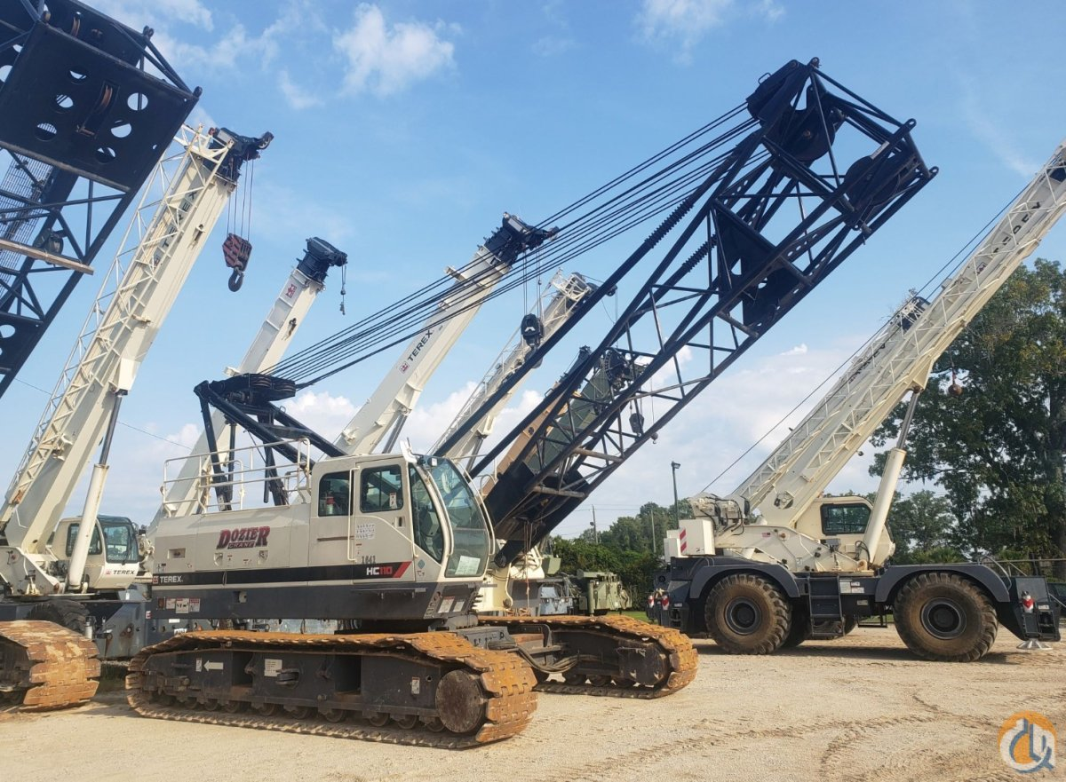 2016 TEREX HC-110 Crane for Sale or Rent in Savannah Georgia on CraneNetwork.com
