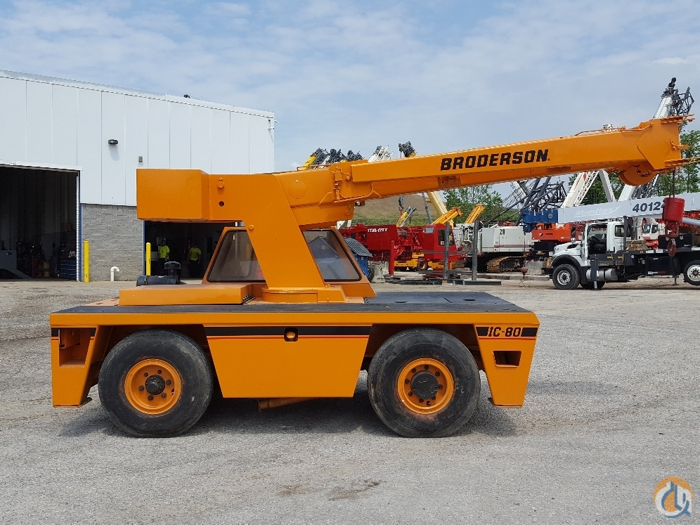 2005 Broderson IC-80-3G Crane for Sale in Cleveland Ohio on CraneNetwork.com