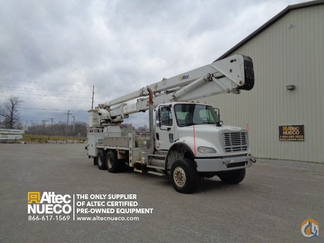 2009 Altec AH100 Crane for Sale in Duluth Minnesota on CraneNetworkcom