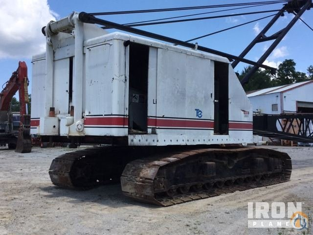 Sold 1972 Link-Belt LS-318 Lattice-Boom Crawler Crane Crane for  in Louisville Kentucky on CraneNetworkcom