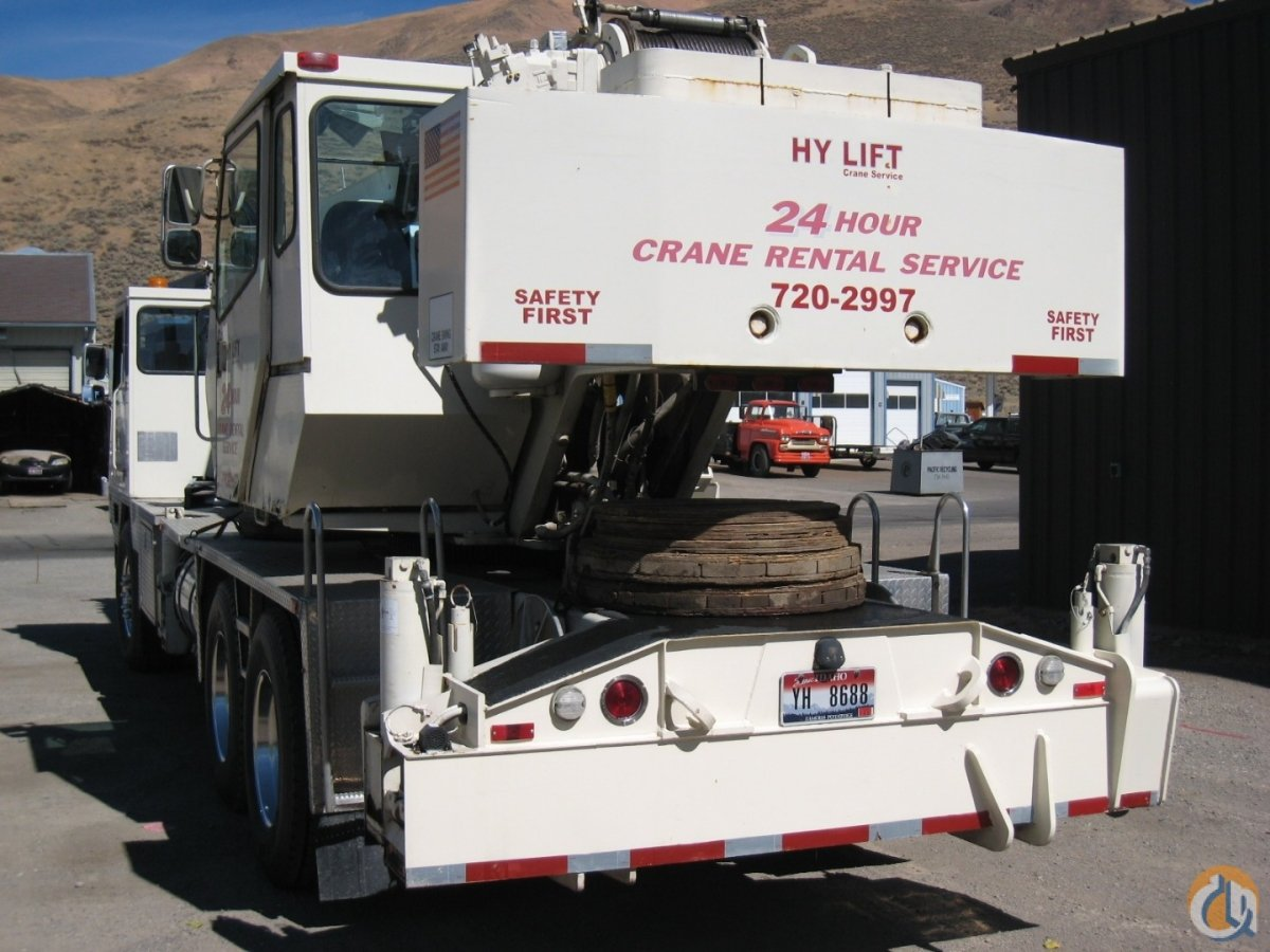Sold 1998 Terex T335 Crane for  in Hailey Idaho on CraneNetwork.com
