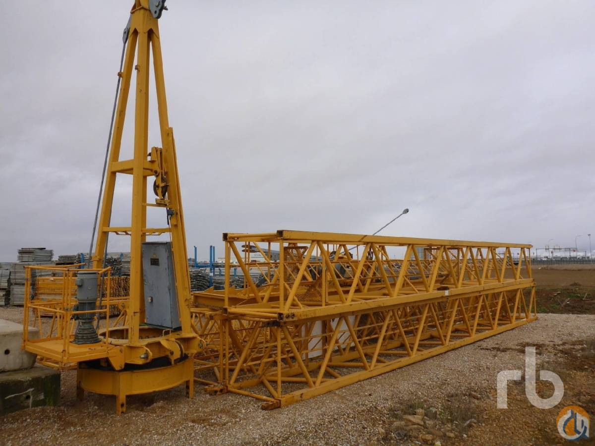 Sold 2004 LIEBHERR 63LC Tower Crane Crane for  in Ocaa Castilla-La Mancha on CraneNetwork.com