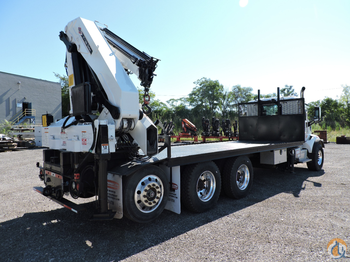 37266 K4J9K3 rear mounted knuckleboom crane 2015 Peterbilt 567 Crane for Sale in Hodgkins Illinois on CraneNetwork.com