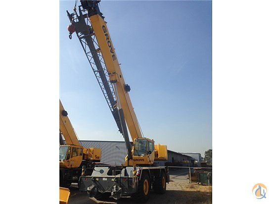 2009 Grove RT650E Crane for Sale on CraneNetwork.com