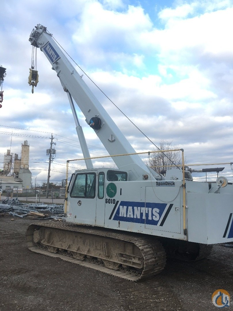 Mantis 6010 Crane for Sale in Ayr Ontario on CraneNetworkcom