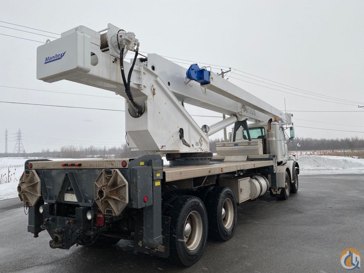 2009 Manitex 50110S 50 ton on Westernstar Crane for Sale in Montreal Quebec on CraneNetwork.com