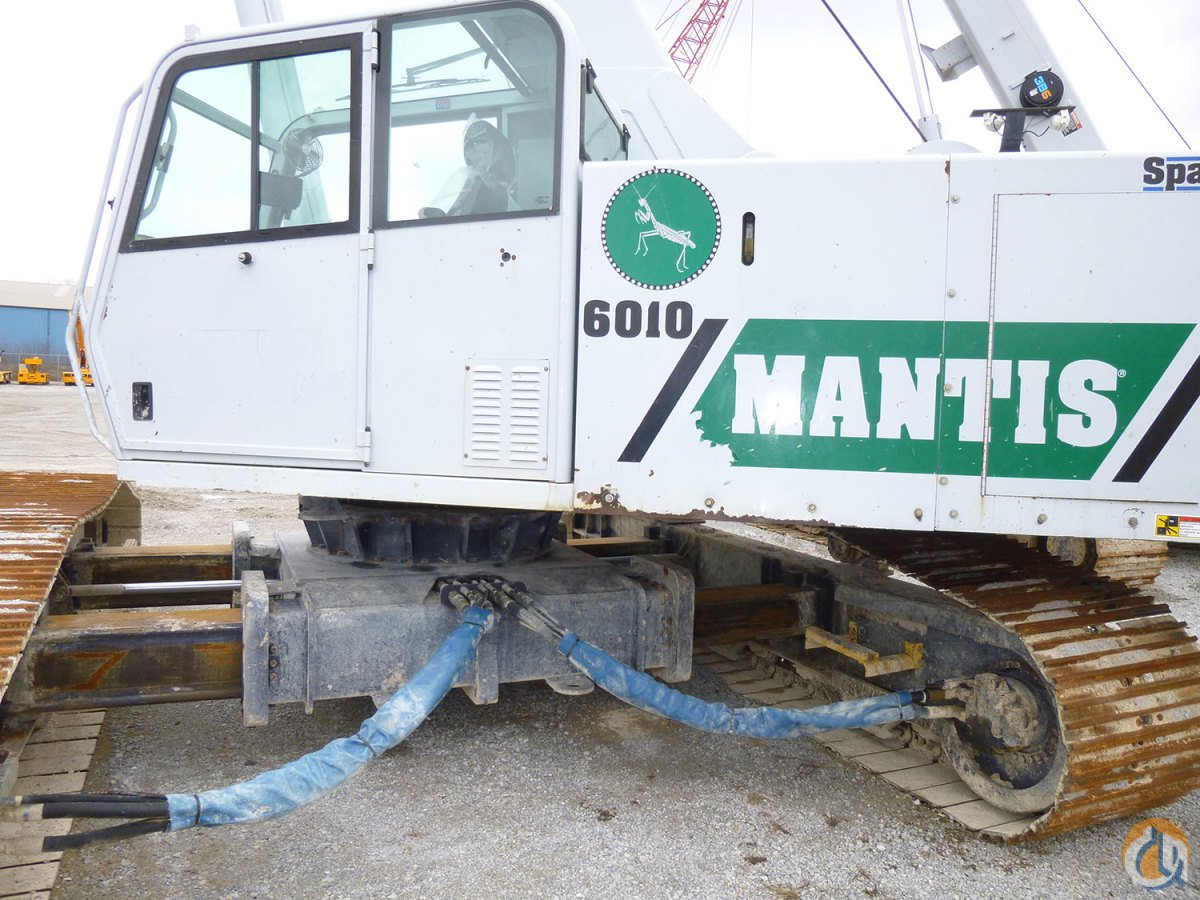 2008 Mantis 6010 Crane for Sale in Riverdale Illinois on CraneNetwork.com