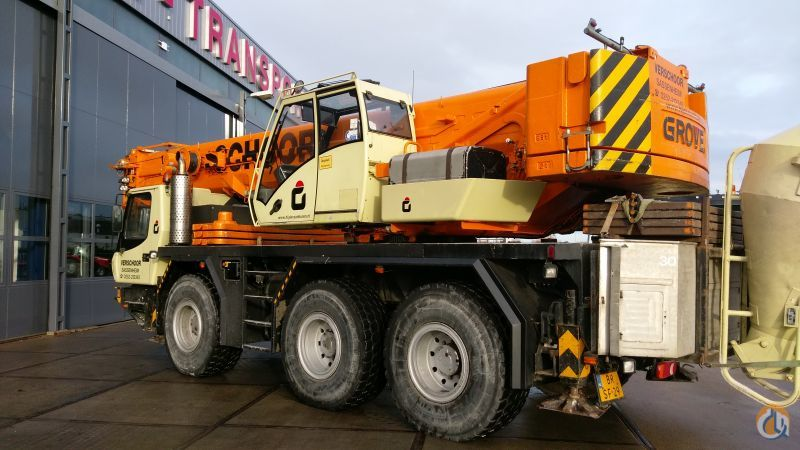 Sold Grove GMK3050-1 Crane for  in Sassenheim Zuid-Holland on CraneNetwork.com