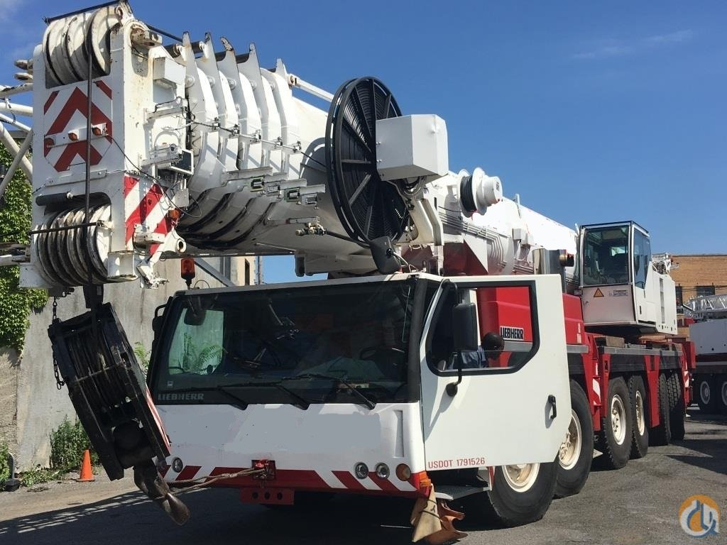 2005 LIEBHERR LTM 1250-61 Crane for Sale in New York New York on CraneNetworkcom
