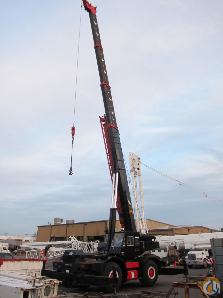 Tadano Rough Terrain Cranes : Tadano tr e ton rough terrain crane for sale