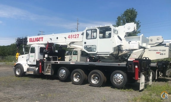 2018 ELLIOTT 45127R MOUNTED ON 2018 PETERBILT 367 Crane for Sale in Waterford New York on CraneNetwork.com