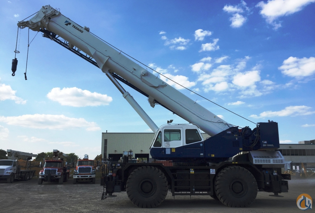 New 2018 Tadano model GR1000XL-3 Crane for Sale or Rent in Laval Qubec on