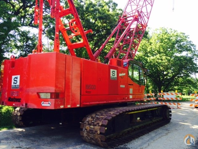 2007 MANITOWOC 10000 Crane for Sale in Rockford Illinois on CraneNetwork.com