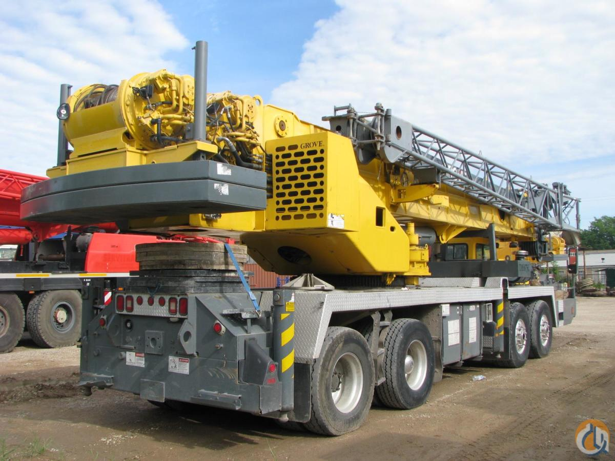 2002 GROVE TMS875C Crane for Sale in Lewisville Texas on CraneNetwork.com