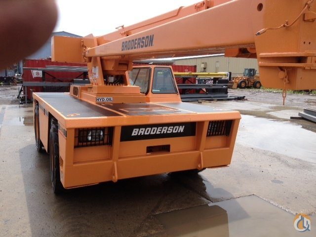 BRODERSON IC200-3F 15TON CRANE Crane for Sale in Detroit Michigan on CraneNetwork.com
