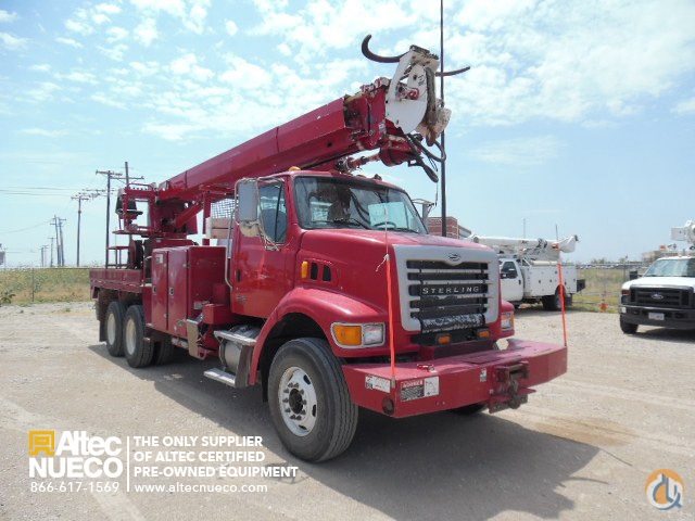 2007 ALTEC D3055-TR Crane for Sale in Birmingham Alabama on CraneNetworkcom
