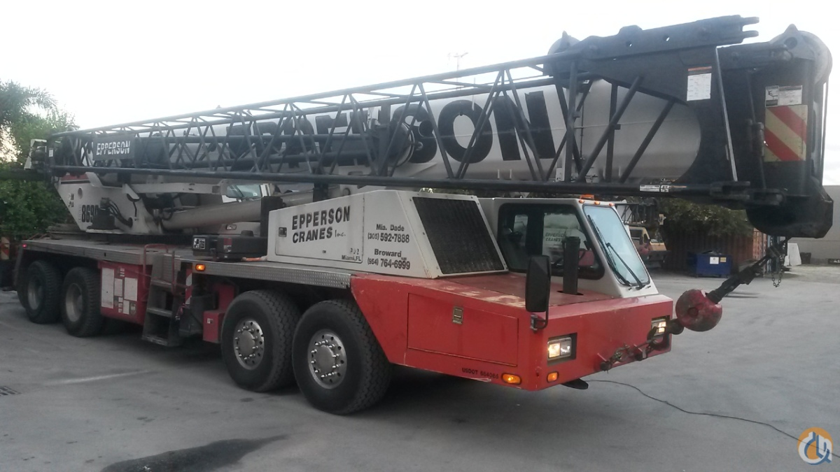 2005 Link-Belt HTC 8690 Crane for Sale in Miami Florida on CraneNetwork.com