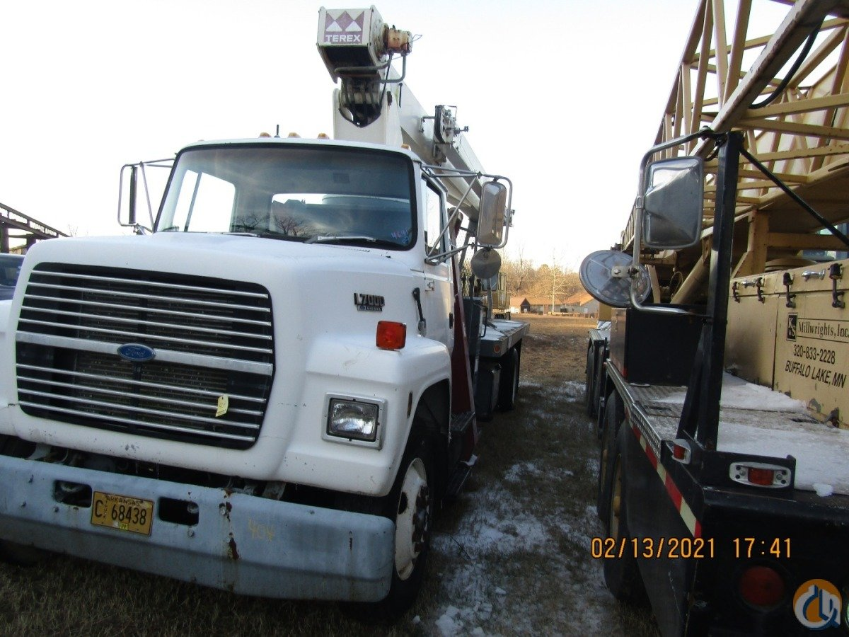Sold 17 Ton Terex BT3470 Boom Truck Crane Crane for  in Conway Arkansas on CraneNetwork.com